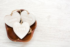 Love, wish, dream Royalty Free Stock Images