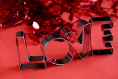 Love word Stock Photo