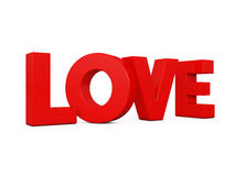 Love word Royalty Free Stock Image