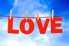 Love word Stock Photo
