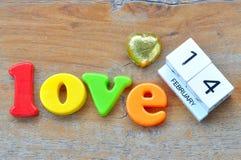 Love wording Royalty Free Stock Image