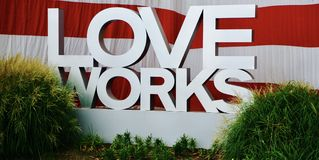 Love Works Stock Images