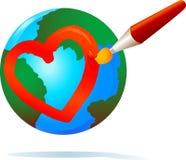 Love World Royalty Free Stock Photo