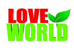 Love world Stock Photo