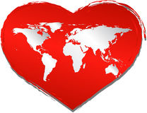Love in the world royalty free stock image