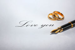 Love you... Royalty Free Stock Images