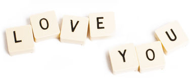 Love you! Royalty Free Stock Photos