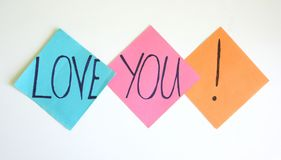 Love you royalty free stock images