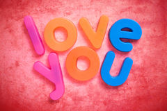 Love you. Royalty Free Stock Photography