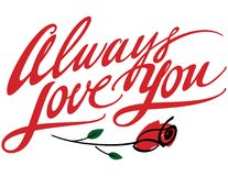 Always Love You stock image