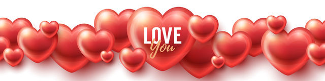 Love You background Stock Photo