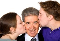 We love you dad - fathers day Royalty Free Stock Photography