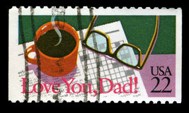 Love You Dad Royalty Free Stock Image