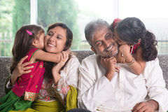 We love you daddy mummy Royalty Free Stock Photography