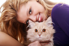 Love You, Kitty Royalty Free Stock Images