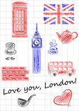 Love you London Stock Photo