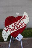 We love you Micheal Jackson Royalty Free Stock Photography