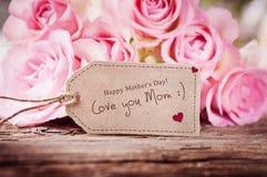 Love you Mom stock photos