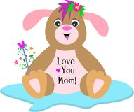 Love You Mom Puppy Dog Stock Photos