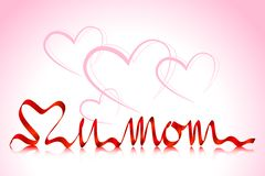 Love you Mom Royalty Free Stock Photo