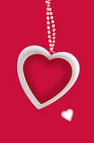 Love You Valentines message Royalty Free Stock Image