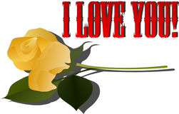 Love you 4 Royalty Free Stock Image