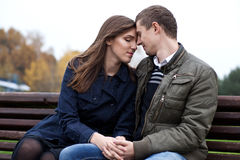 In love young couple Stock Photos