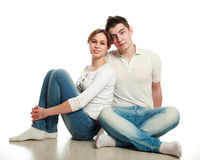 In love young couple Royalty Free Stock Image