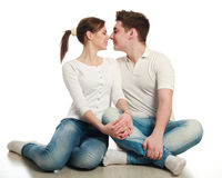 In love young couple Royalty Free Stock Images