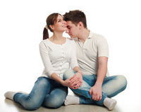 In love young couple Royalty Free Stock Photography