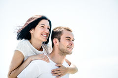 Love - young couple Royalty Free Stock Photos