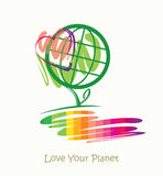 Love Your Planet. Stock Photo