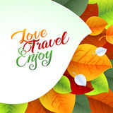 Love Yourself Flyer Brochure Design Template Stock Photo