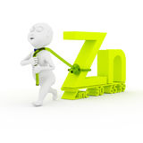 Love Zinc. Royalty Free Stock Photography