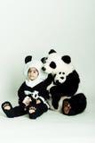 love3 panda Zdjęcie Stock
