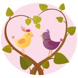Lovebirds Royalty Free Stock Images