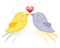 Lovebirds Royalty Free Stock Image