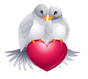 Lovebirds1 Royalty Free Stock Photo