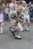 LoveBomb Идти-идет военный оркестр ` s Портленда Орегона Стоковые Фото