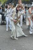 LoveBomb Go-Go Portland Oregon`s Marching Band royalty free stock photo