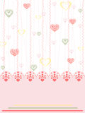 lovecard Стоковое фото RF