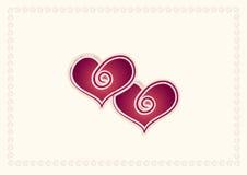 Lovecard Imágenes de archivo libres de regalías