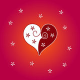 Lovecard Images libres de droits