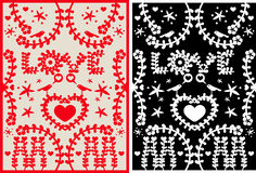 LoveCarpet Illustrazione di Stock
