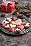 Loved Christmas cookies Stock Photos