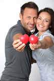 In loved couple Stock Photo