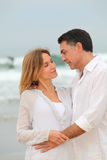 In loved couple on vacation Stock Photo