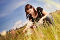 Loved dog Royalty Free Stock Photo