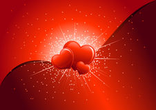Loveexplosion Royalty-vrije Stock Foto