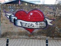 Loveheart Foto de archivo libre de regalías